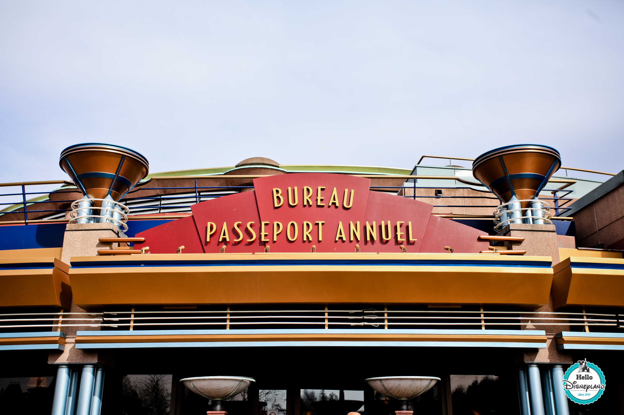 Bureau Pass Annuel Disneyland Paris