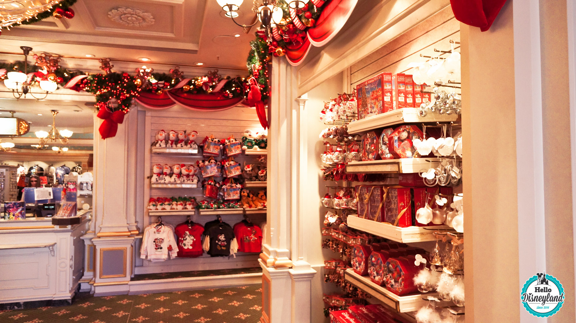 Hello disneyland le blog n 1 sur disneyland paris les - Decoration interieur de noel ...