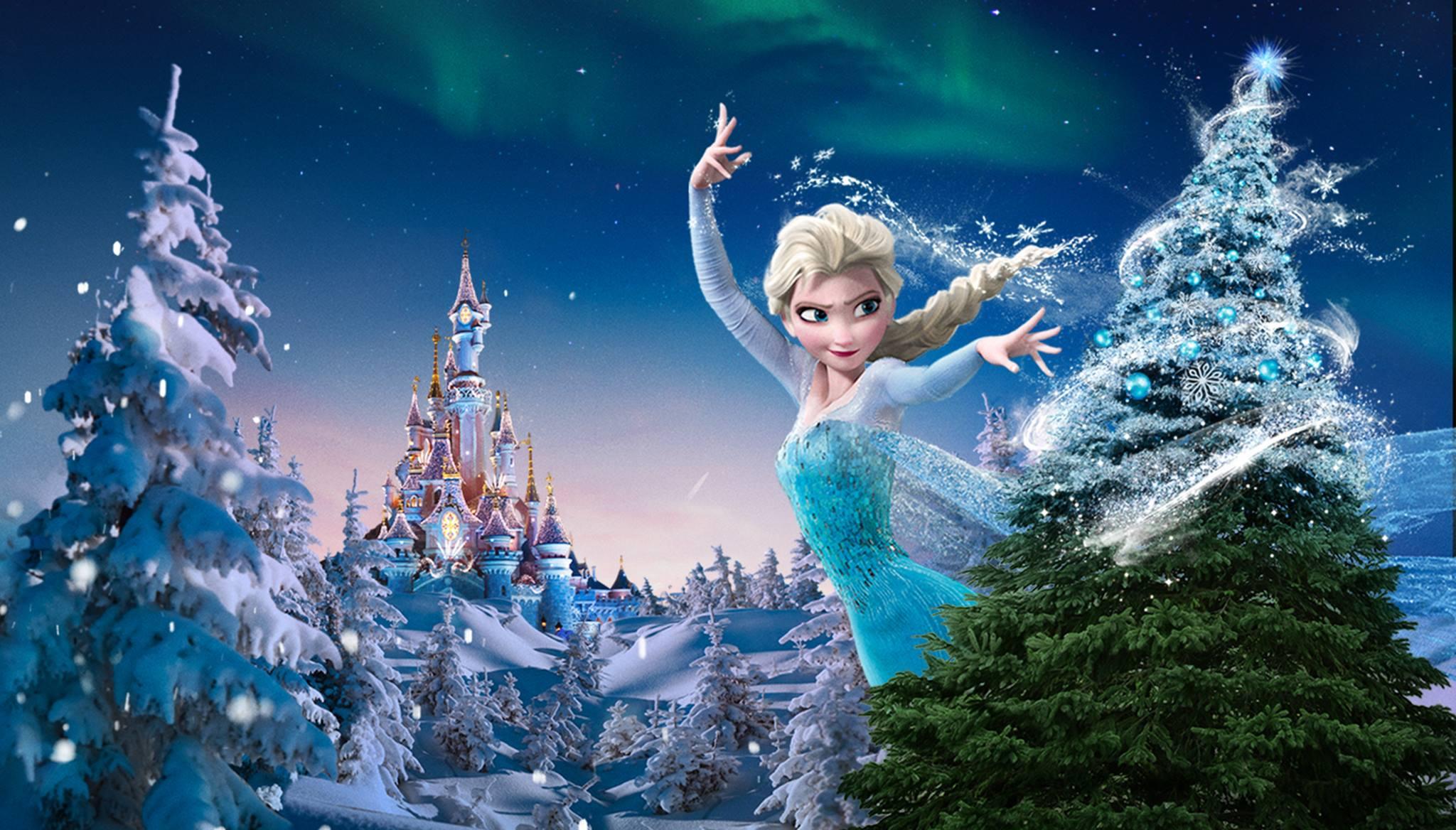 #0B426C Hello Disneyland : Le Blog N°1 Sur Disneyland Paris  6015 decoration de noel reine des neiges 2048x1168 px @ aertt.com