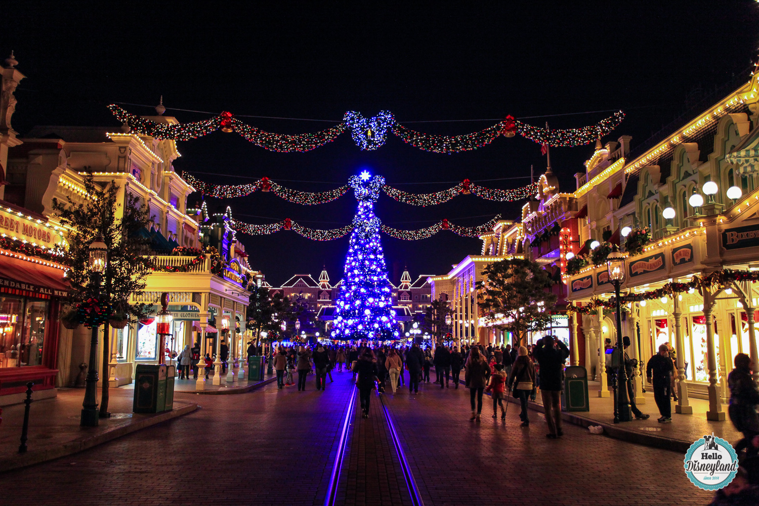 Le Noël Enchanté de Disneyland Paris 2015 | Hello Disneyland : Le ...