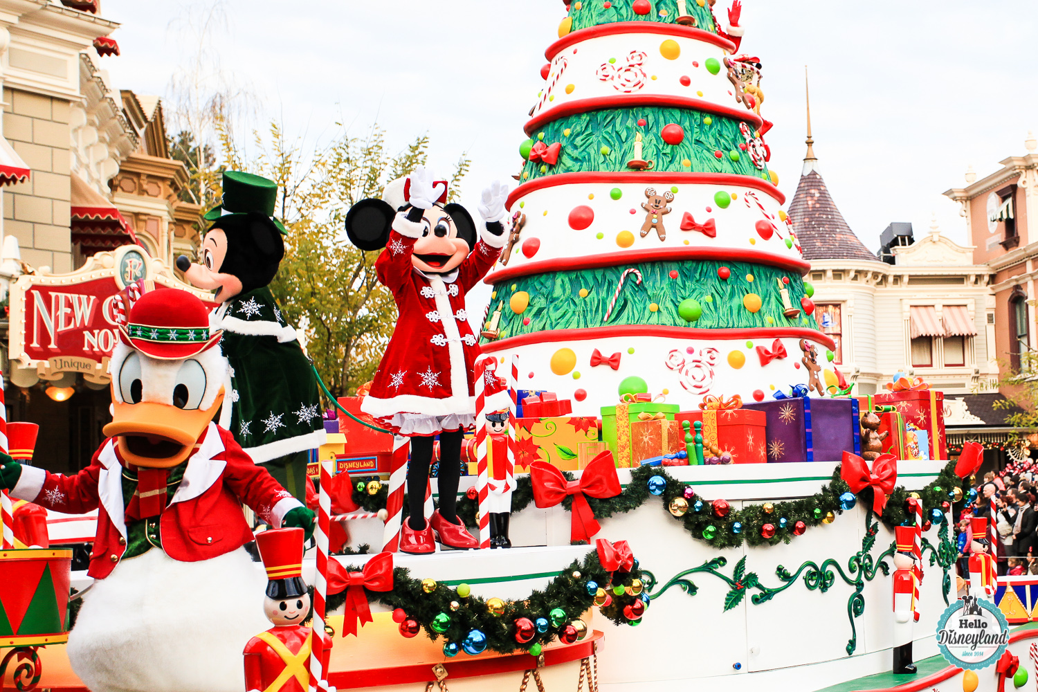 #B81613 Le Noël Enchanté 2015 De Disneyland Paris Hello  6653 Date Des Decorations De Noel A Paris 2015 1500x1000 px @ aertt.com
