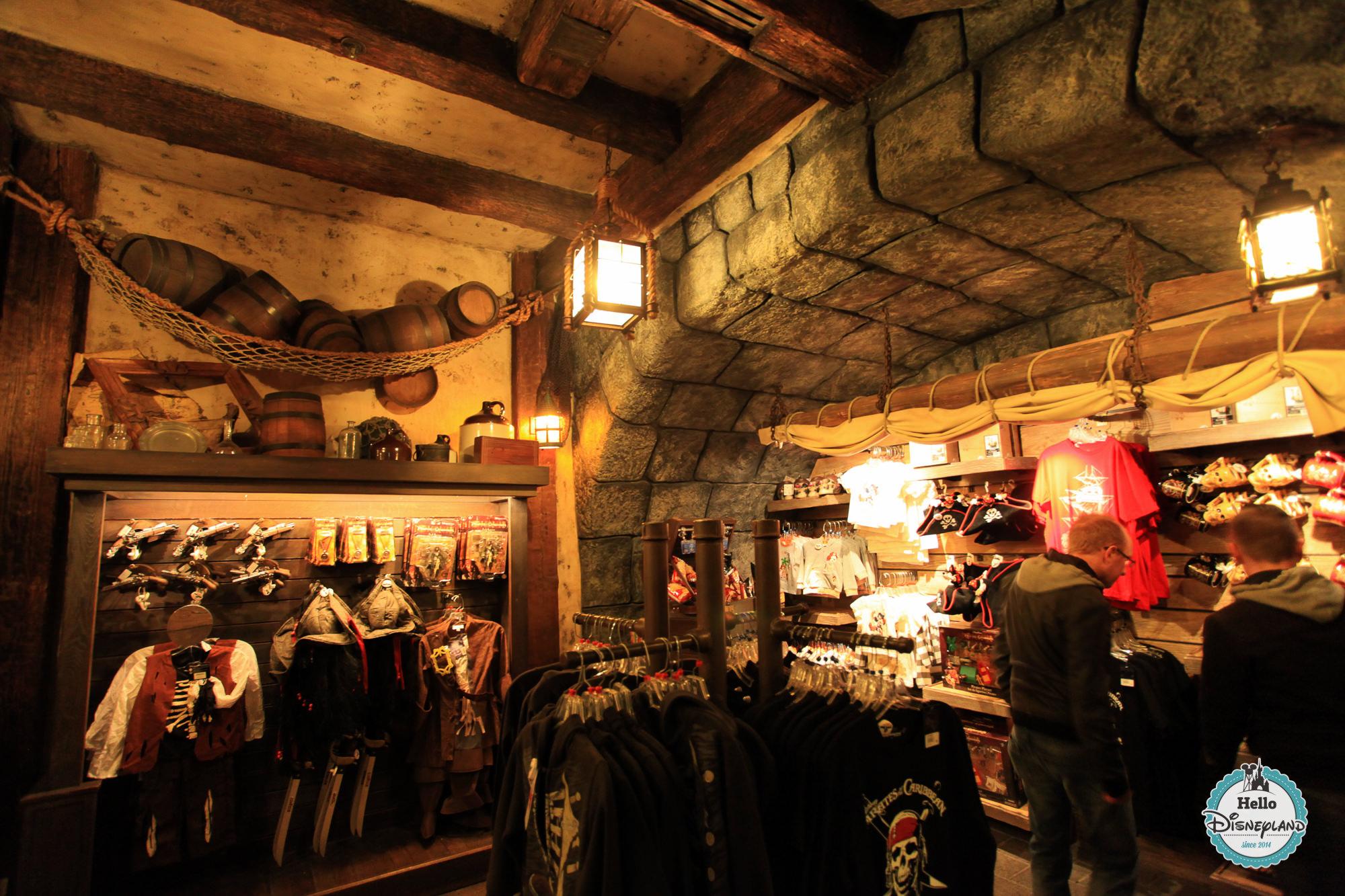 Le coffre du Capitaine - Boutiques de Disneyland Paris