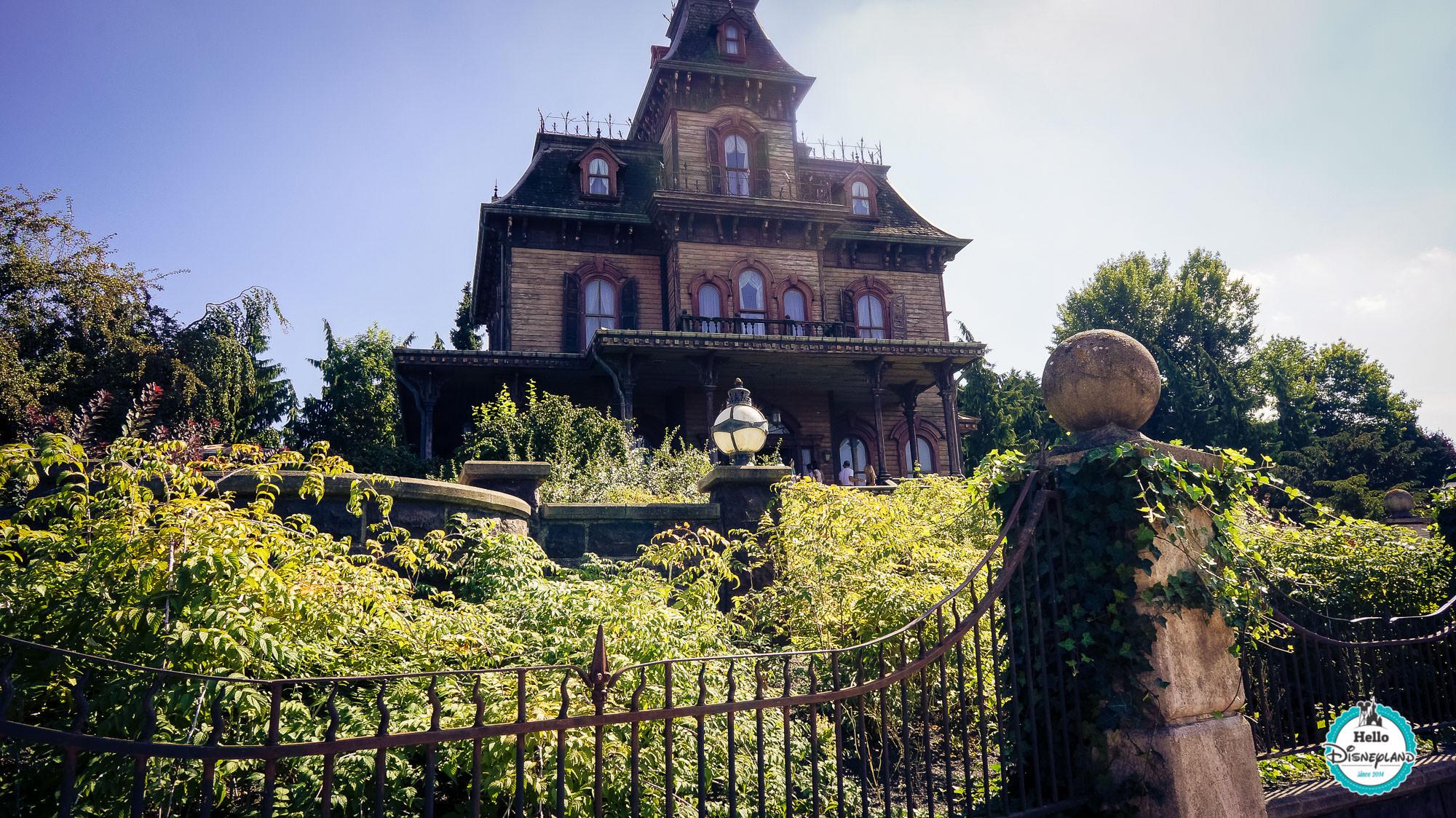 Hello disneyland le blog n 1 sur disneyland paris - La maison hantee paris ...