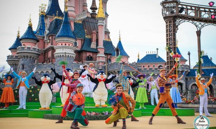 Bienvenue à la Belle Saison - Mary Poppins at Disneyland Paris - Spring 2015