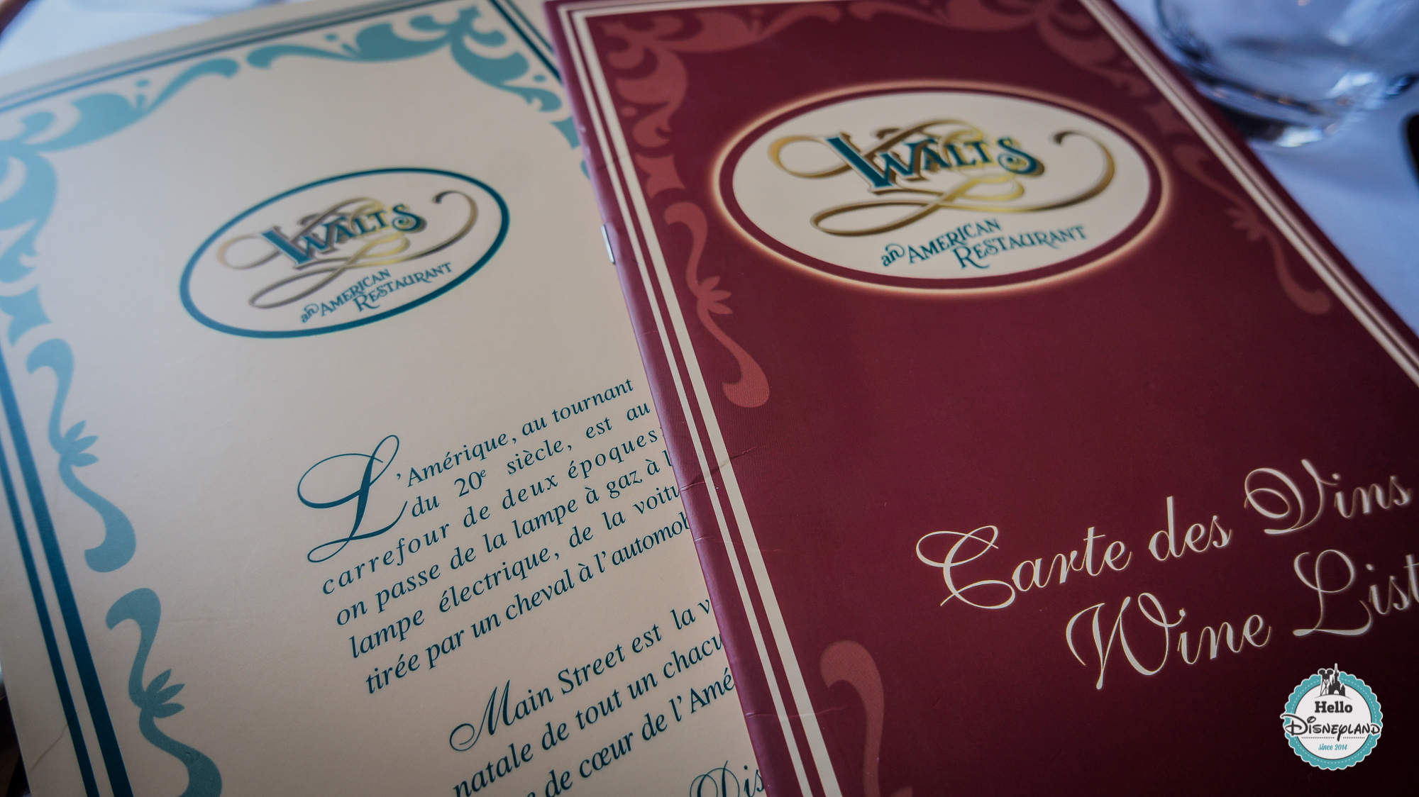 Walt's Restaurant - Service à table - Disneyland Paris
