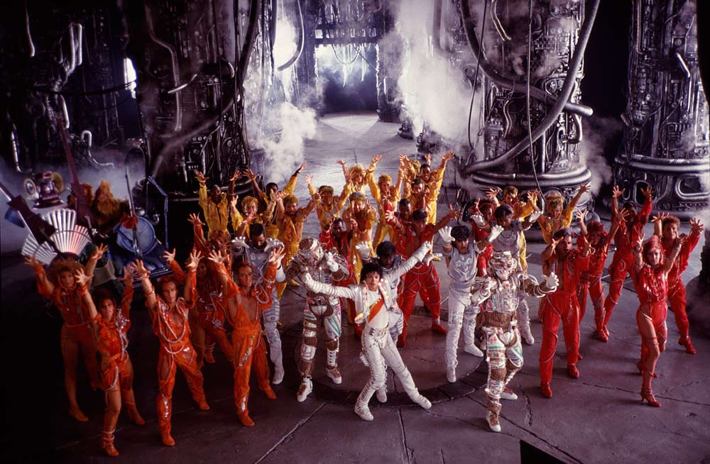Captain Eo disneyland Paris