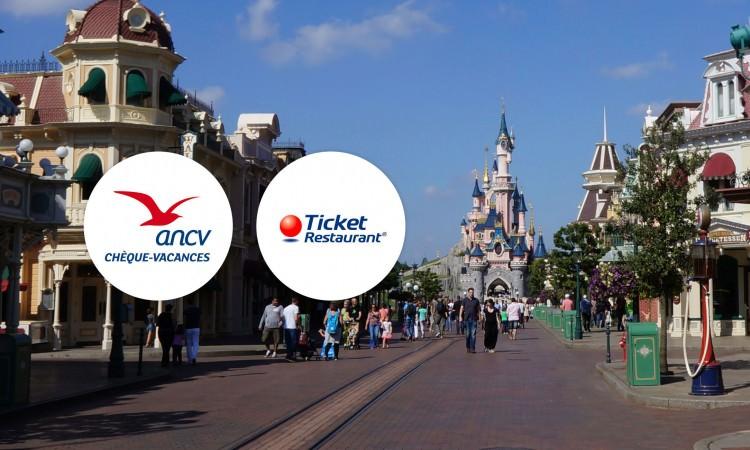cheques vacances et tickets restaurants Disneyland Paris