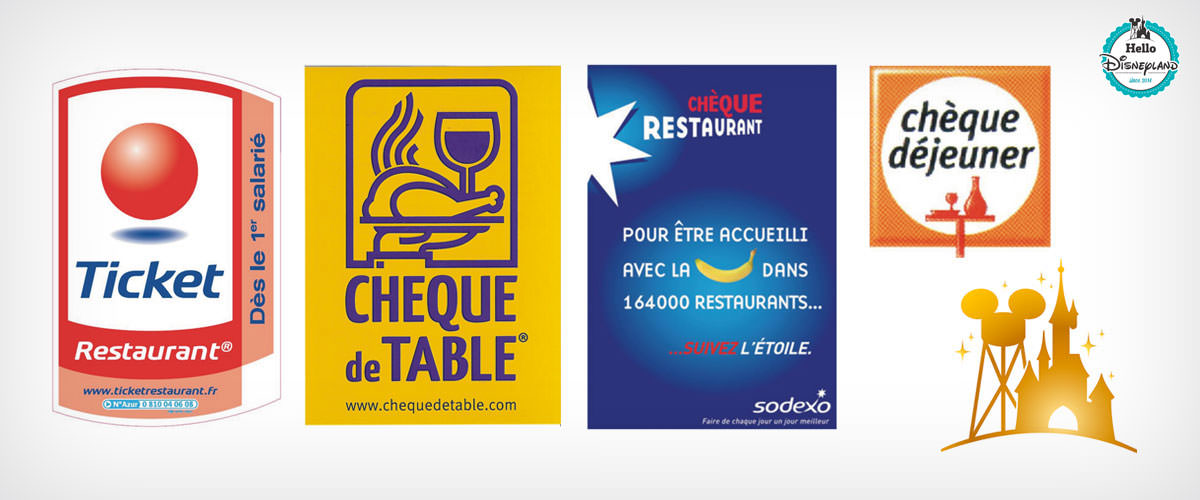 tickets restaurants Disneyland Paris