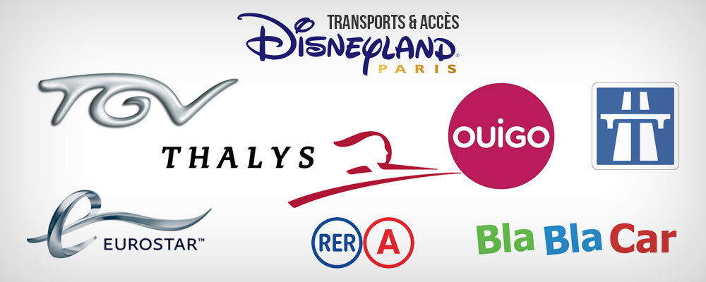 transports vers Disneyland Paris