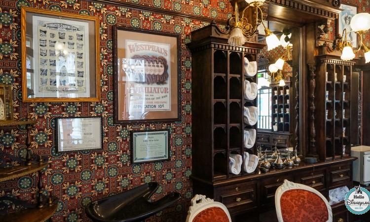 Dapper Dan's Hair Cuts Coiffeur Disneyland Paris