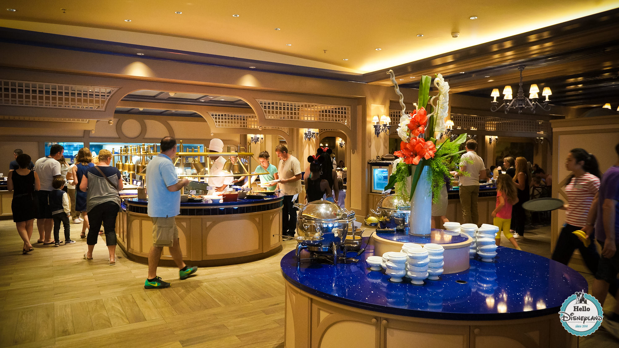 Cape Cod - Buffet Disneyland Paris - Newport Bay Club