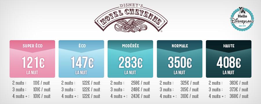 Tarifs des nuits s ches en h tels disney hello for Comparateur hotel paris prix