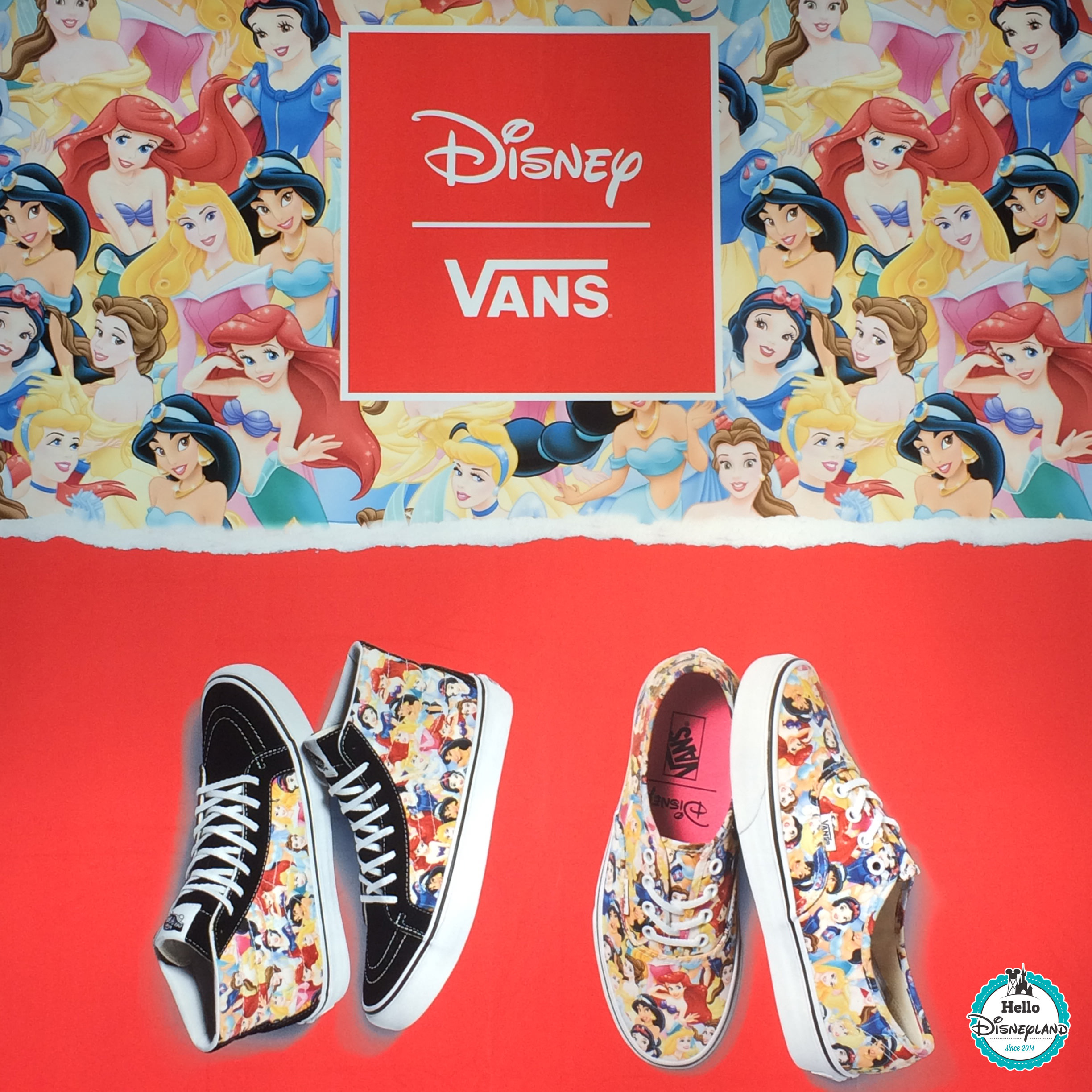 Vans Disney Princesses