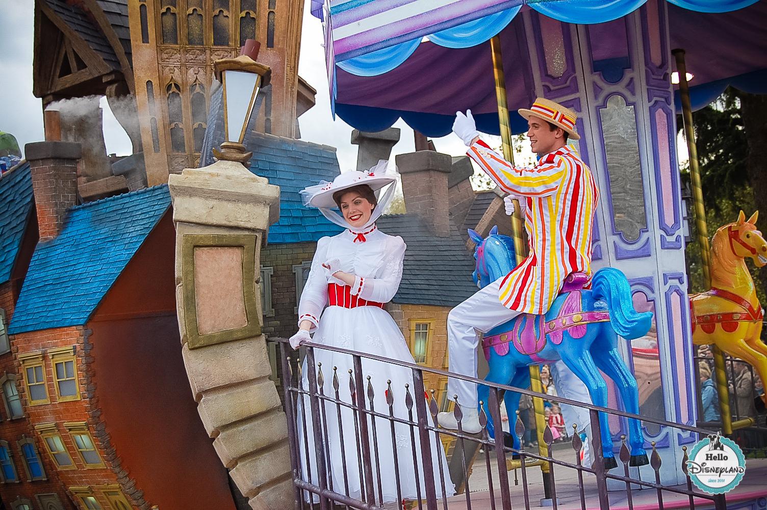 Disney Once Upon a Dream Parade - Disneyland Paris -11