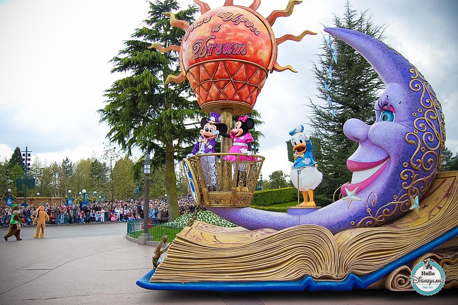 Disney Once Upon a Dream Parade - Disneyland Paris -2