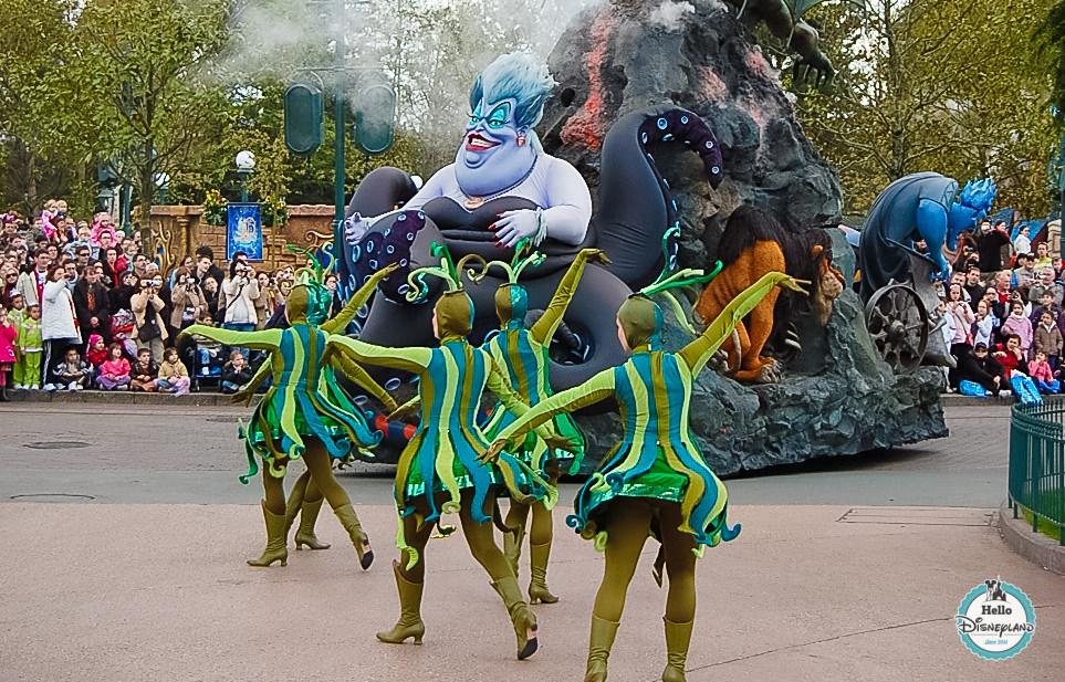 Disney Once Upon a Dream Parade - Disneyland Paris -21