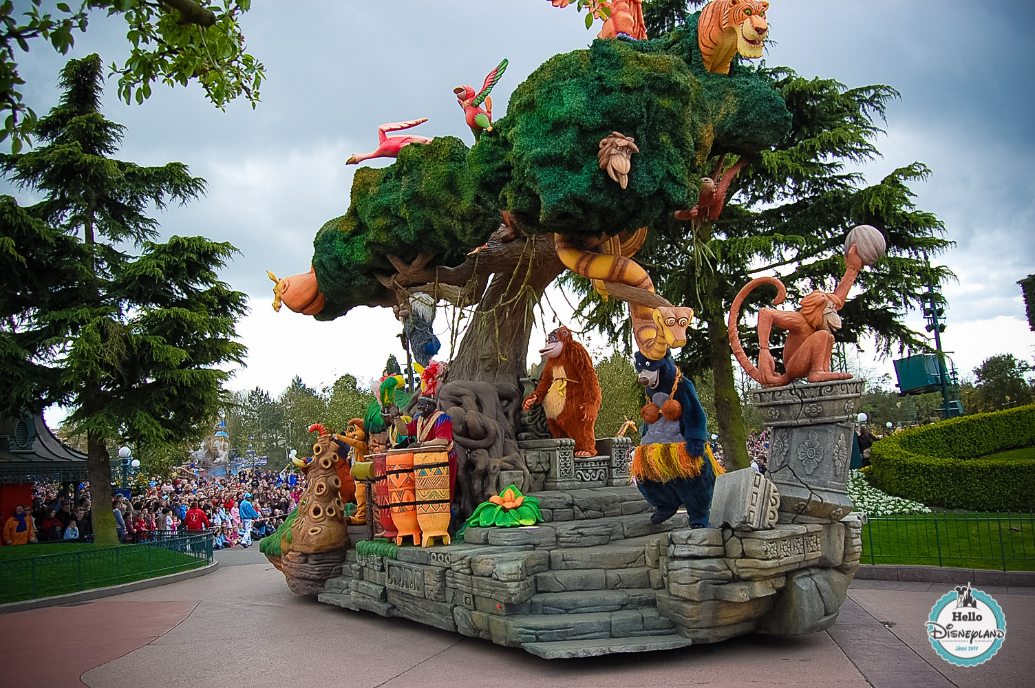 Disney Once Upon a Dream Parade - Disneyland Paris -24
