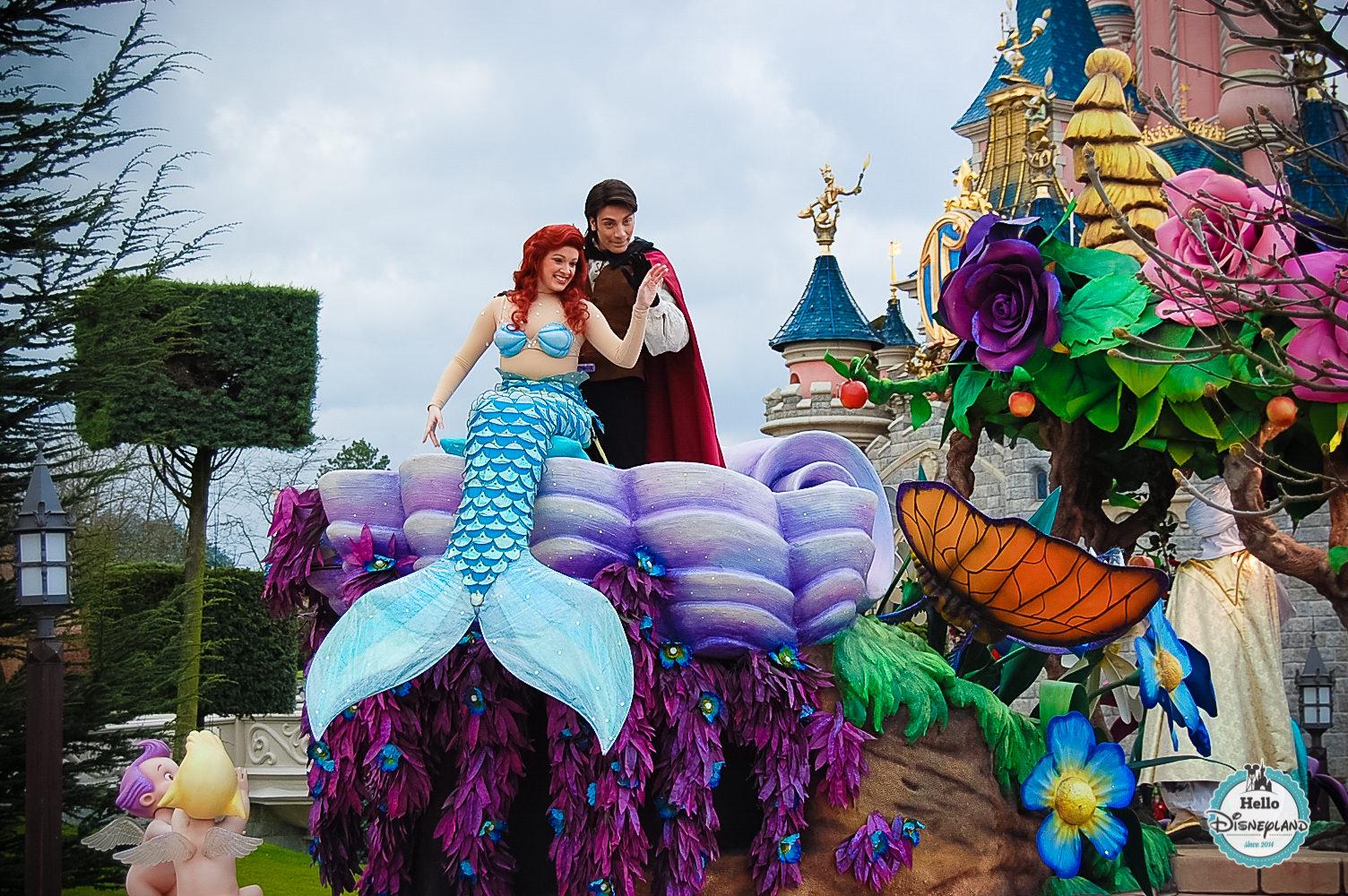 Disney Once Upon a Dream Parade - Disneyland Paris -27