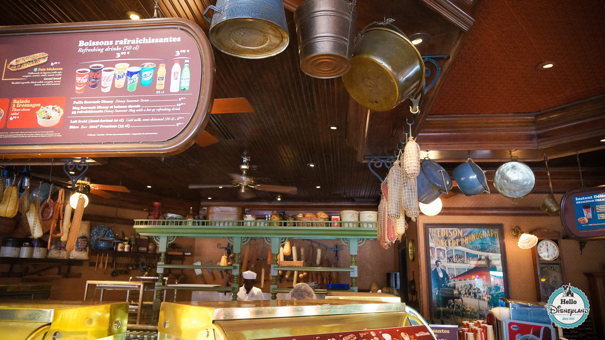 Market House Deli Restaurant - Disneyland Paris