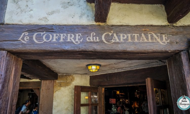 Le coffre du capitaine - boutique pirates disneyland paris