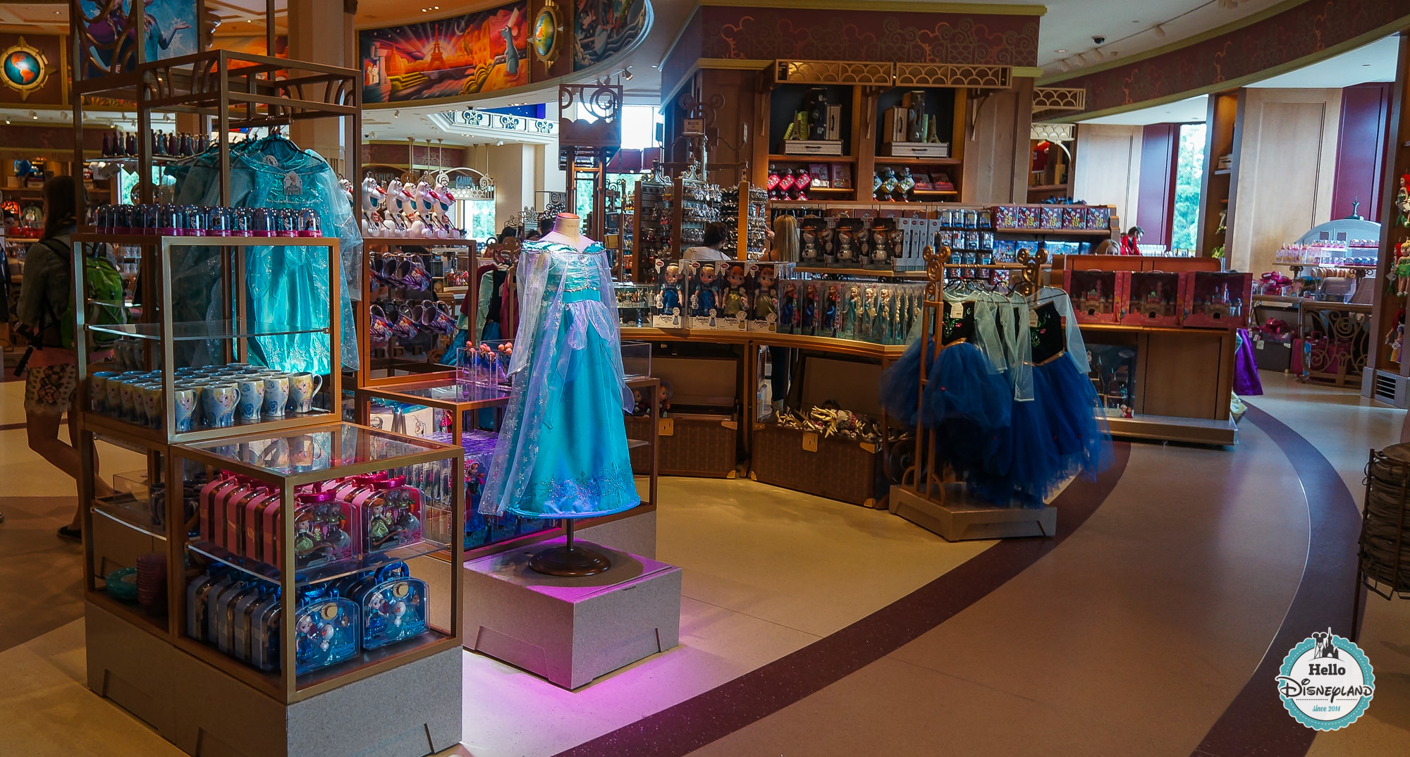 L'été givré 2015 La Reine des Neiges Disneyland Paris