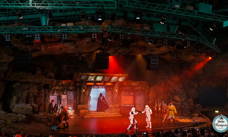 Dark Vador Jedi Training Academy - Disneyland Paris