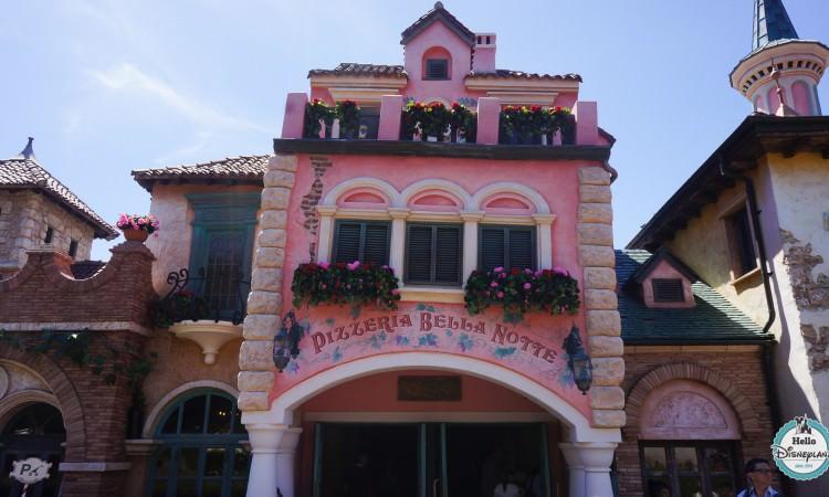 Pizzeria Bella Note Disneyland Paris