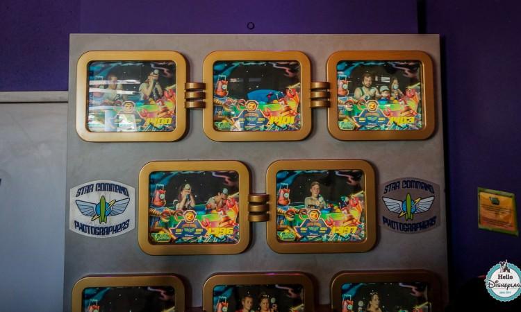 Star Command Photographers Disneyland Paris photo attraction buzz l'eclair