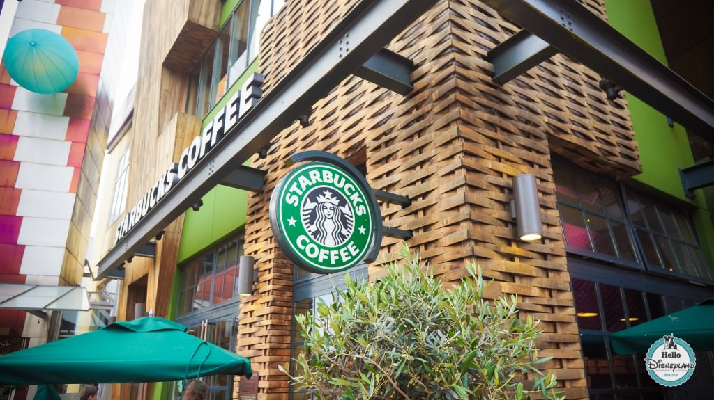 Starbucks Disney Village 2015