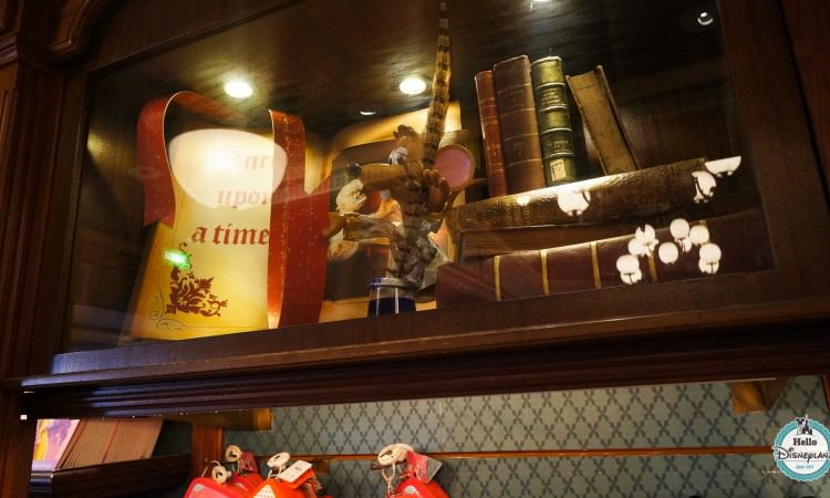 Storybook Store boutique livres Disneyland Paris