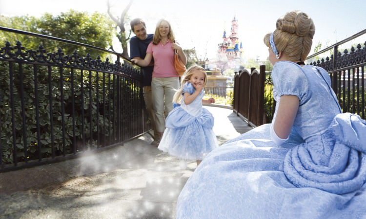 itinéraire disneyland paris spécial petites filles