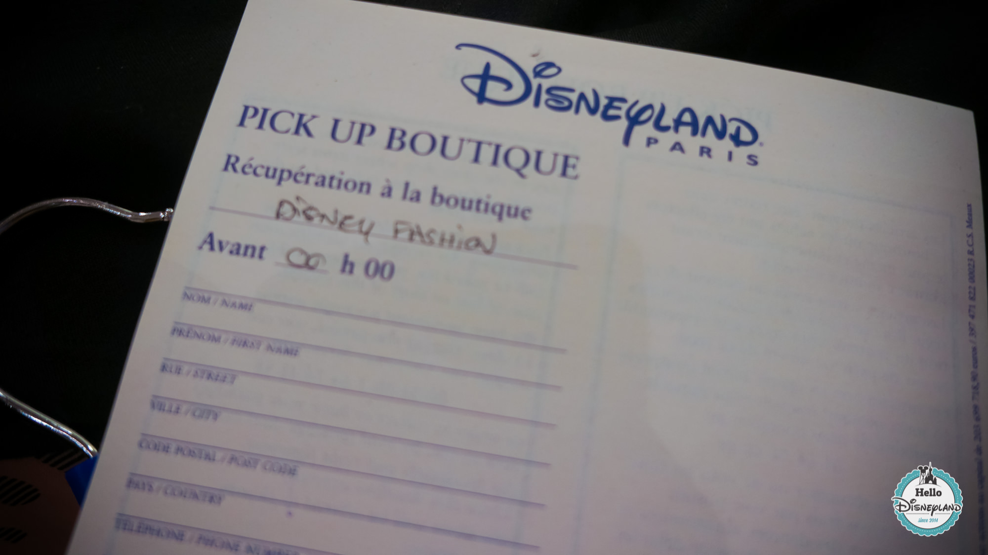Pick Up Boutique Disneyland Paris-1
