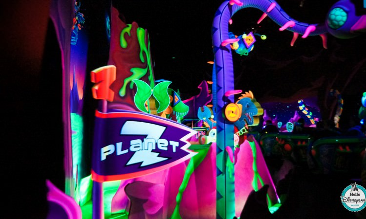 Buzz Lightyear Laser Blast - Disneyland Paris