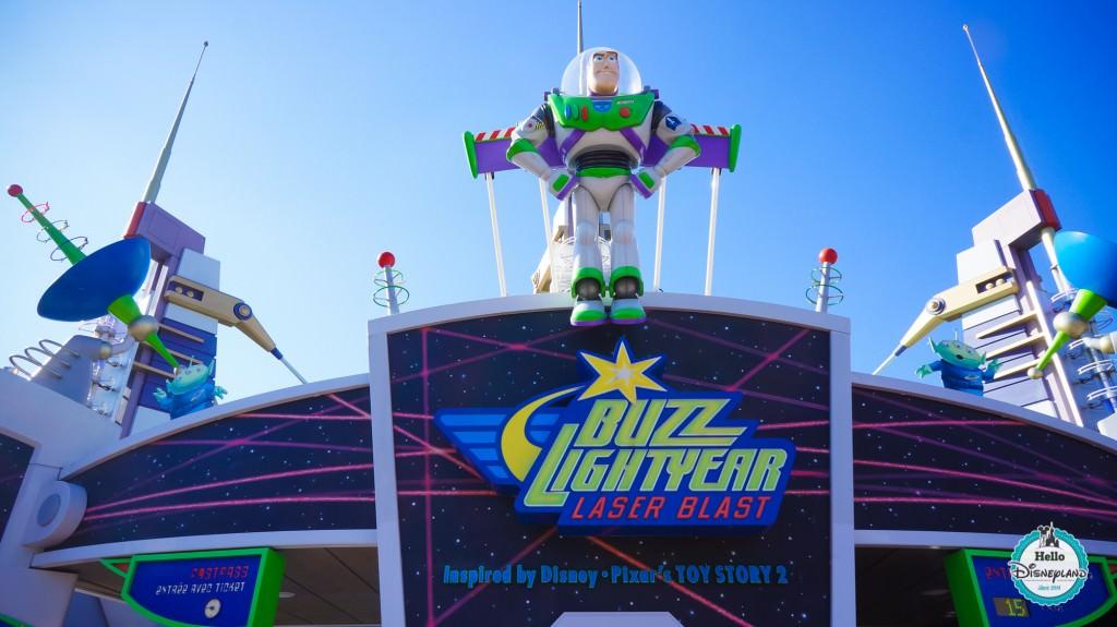 Réouverture de Buzz Lightyear Laser Blast en février 2021 !