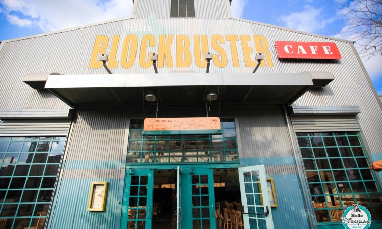 Blockbuster Cafe - Disneyland Paris