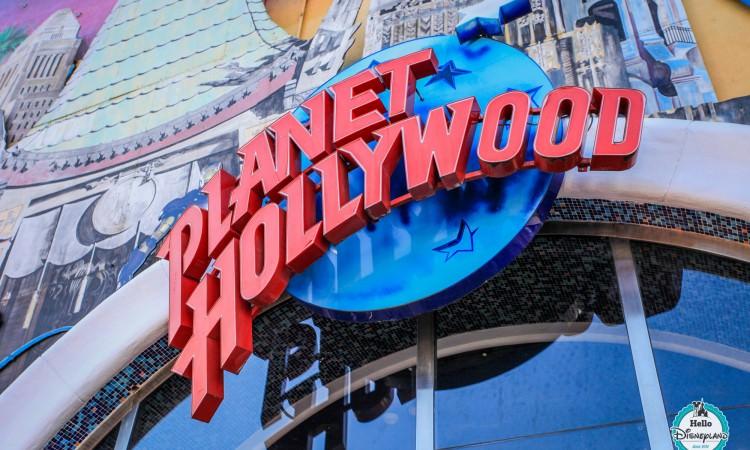 Boutique Planet Hollywood - Disneyland Paris