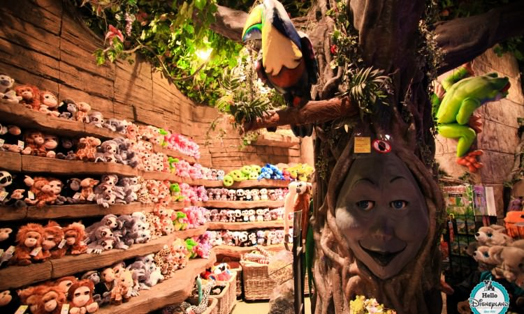Rainforest Cafe Shop