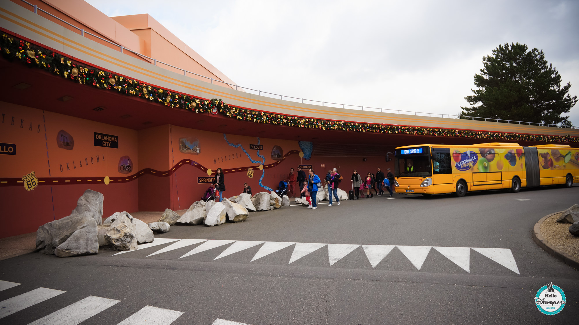 Hotel Santa Fe Disneyland Restaurant