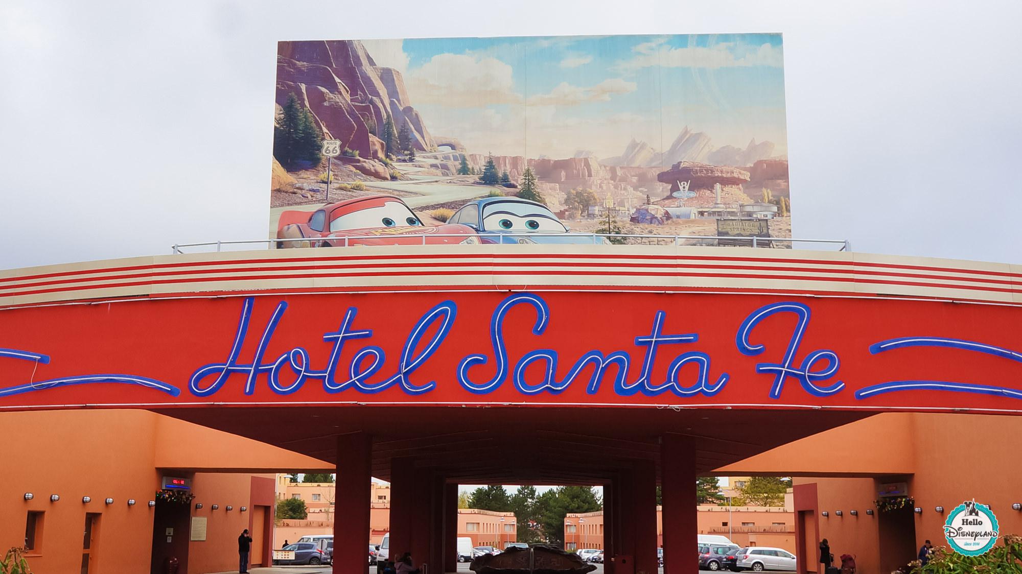 Eurodisney Hotel Santa Fe