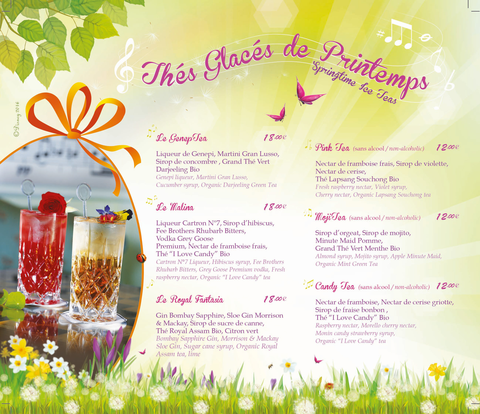 Cafe Fantasia - Menus Printemps 2016- Disneyland Paris-5