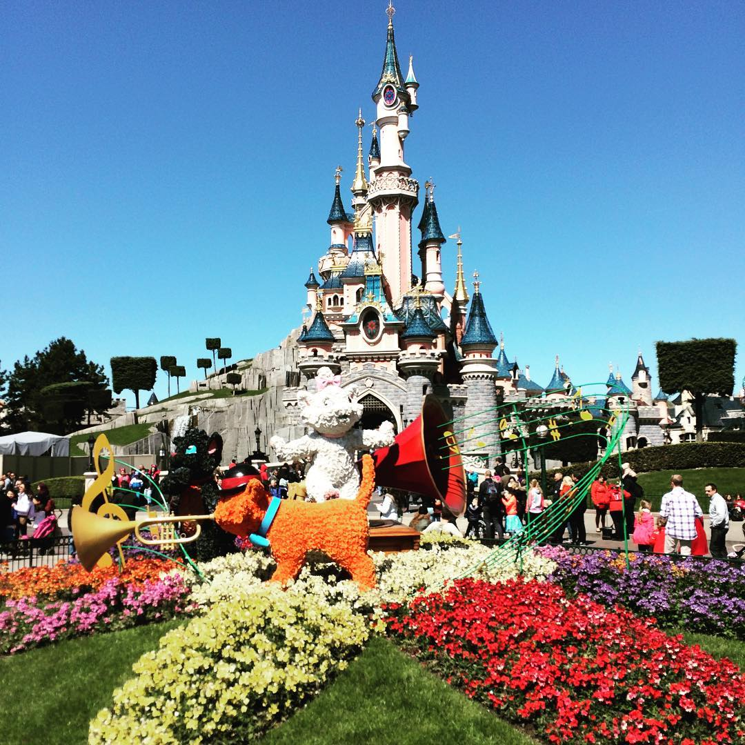 Spring Disneyland PAris Castle