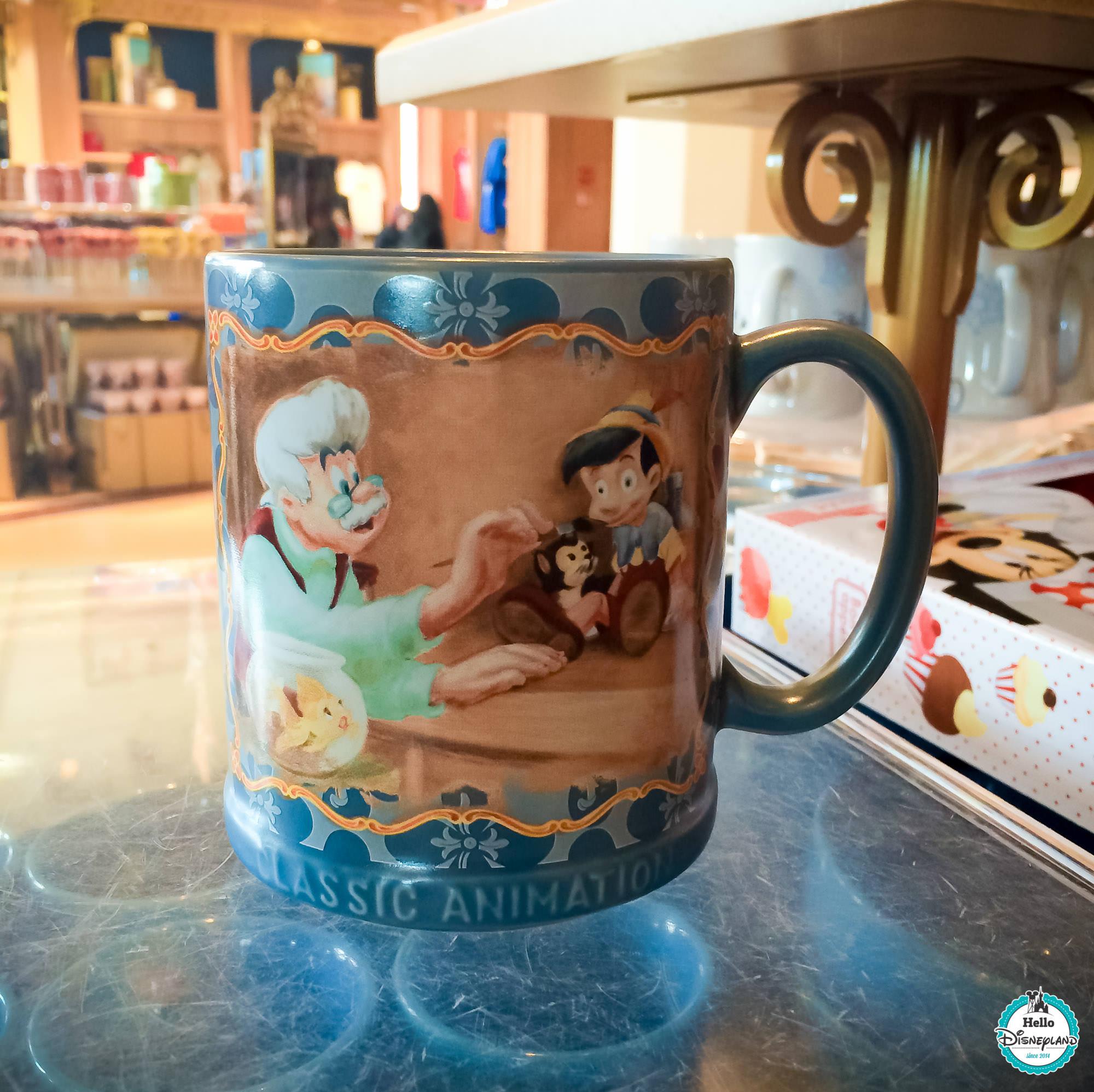 Mug Pinocchio Disneyland PAris 2016