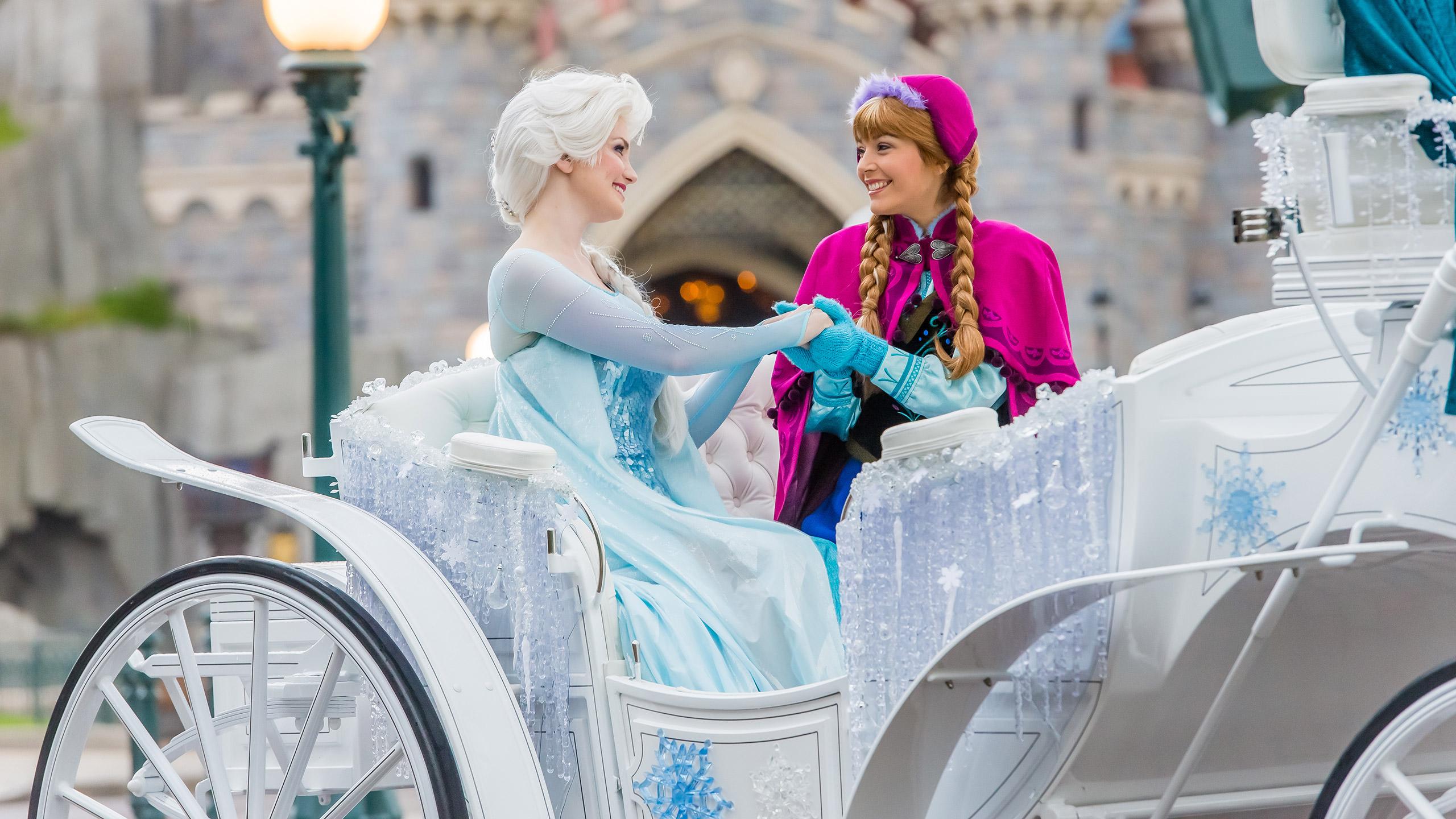 La Reine des Neiges Disneyland Paris