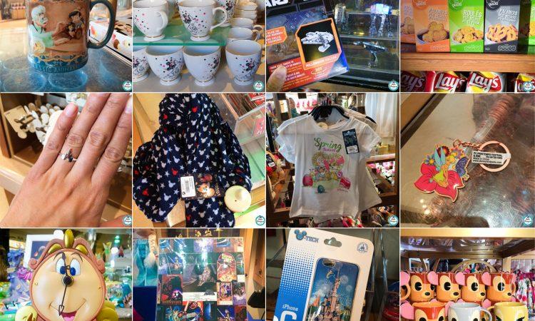 Selection Shopping Mai 2016 - Disneyland Paris