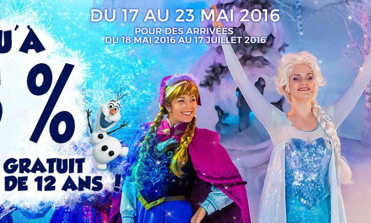 vente flash Disneyland Paris 2016