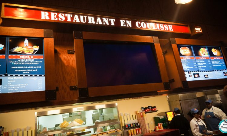 En Coulisse Restaurant - Disneyland Paris