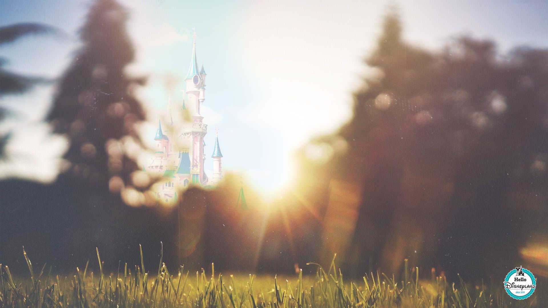 Early morning Disneyland paris