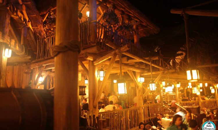 Blue Lagoon Restaurant Pirates des Caraïbes Disneyland Paris
