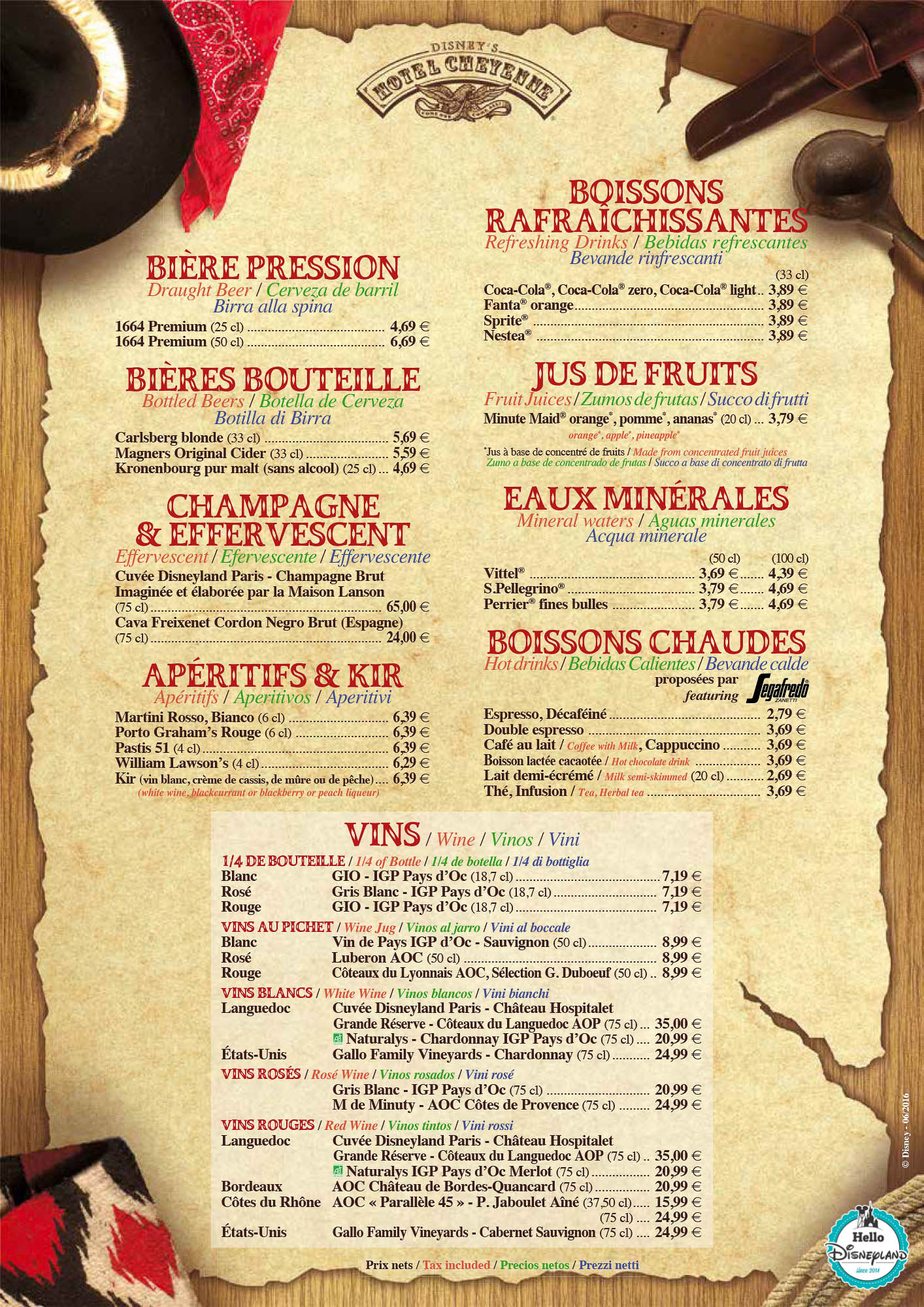 Chuck Wagon Restaurant Menu