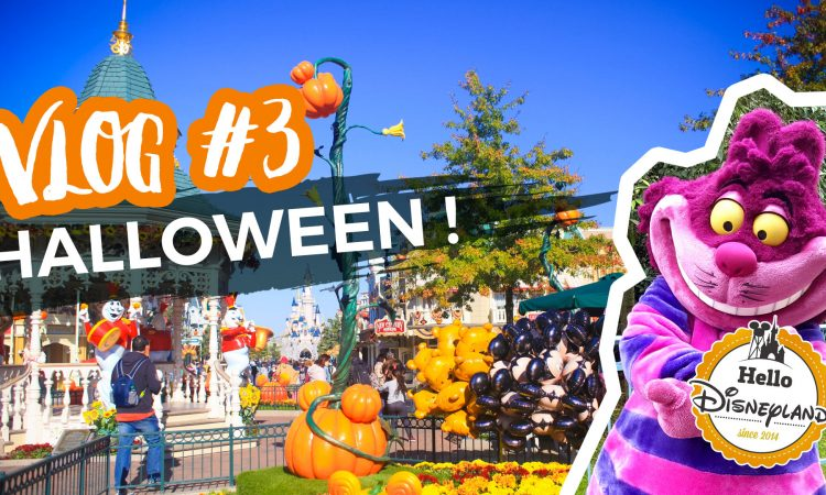 Vlog Halloween Disneyland PAris